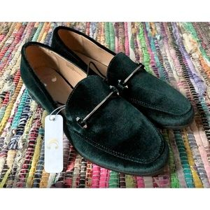 Charming Charlie Velvet Loafers